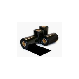 55mm*74mtrs Thermal Transfer wax Ribbon for Barcode Printer, Black